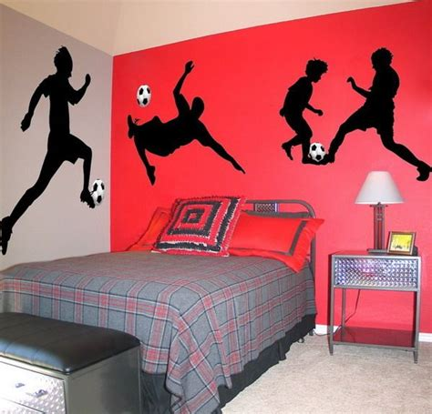 soccer decorations for bedroom soccer room football decor pinterest