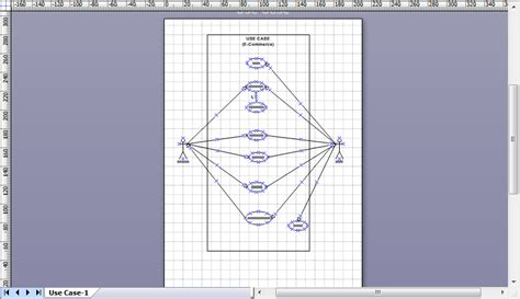 aturan membuat use case diagram cara membuat use case diagram pada ms visio