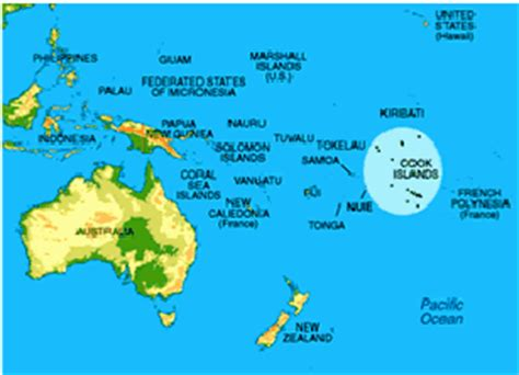 cook islands fact file