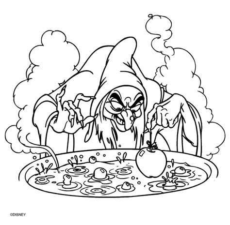 witch coloring pages coloringpages1001 com