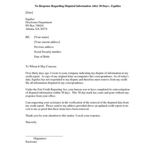 Redit Dispute Letter Template Template Exposed And Letter Templates With Regard To Section 609 Dispute Letter To Credit Bureau Template
