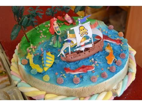 como decorar un pastel de la sirenita ariel tartas de cumplea 241 os de la sirenita ariel imagui