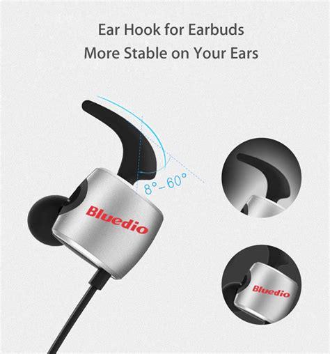 Bluedio Te Bluetooth Sport Earphone bluedio te wireless bluetooth sport headphones with mic