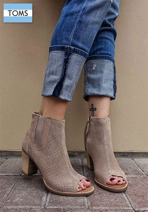 We All Like The Peep Toe But How Bout The Peep Toe Knuckle Introducing Givenchy Cutouts by Toms Peep Toe Booties Add A Touch Of Comfort To Your More