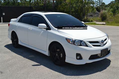 Toyota Corolla S 2012 2012 Corolla S 9 500miles Trd Package