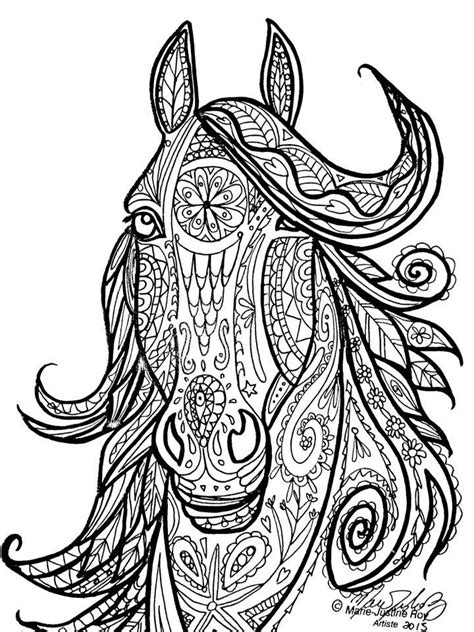 detailed horse coloring pages quotes