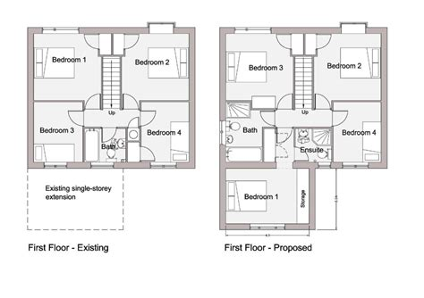 house layout drawing planning drawings