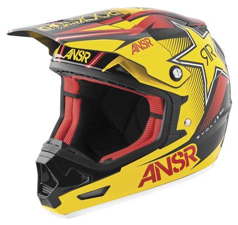 rockstar motocross gear answer evolve 2 0 rockstar vii helmet revzilla