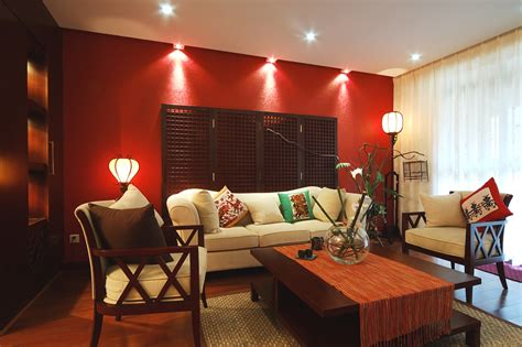 red accent wall in living room 50 elegant living rooms beautiful decorating designs
