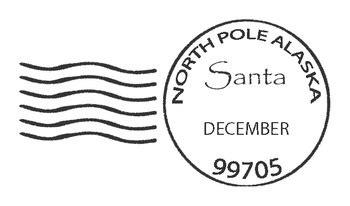 santa north pole postmark by teacher vault | teachers pay