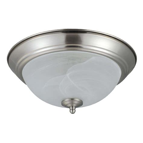 nicor 07900 13 quot nickel 4100k fluorescent ceiling