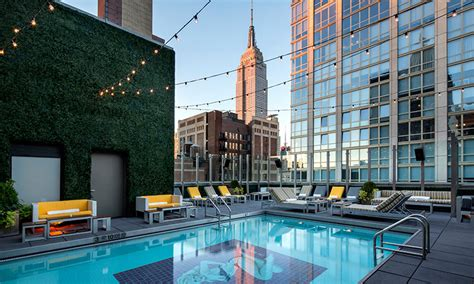 Superb Hilton Garden San Francisco #4: Park-Rooftop-Pool-Dusk-2014.0.jpg
