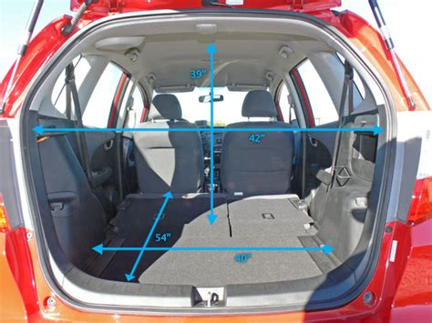 Honda Fit Interior Dimensions by A Fit