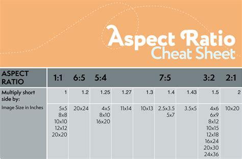 ratio diagram aspect ratio cropping and saving your photos