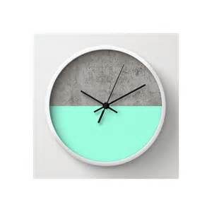 Glass And Ceramic Vases Buy Turquoise Amp Concrete Modern Wall Clocks At 20 Off