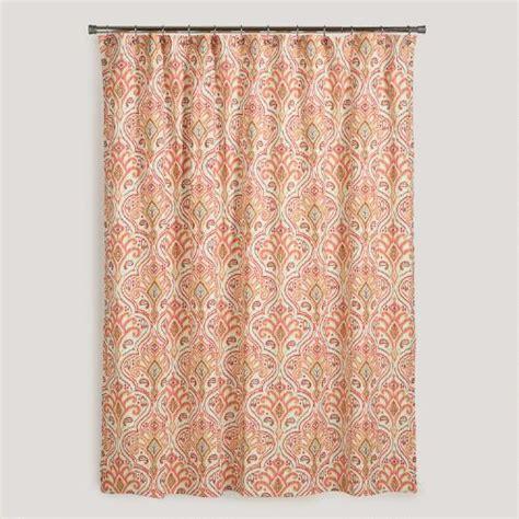 ikat shower curtains nomad ikat shower curtain world market