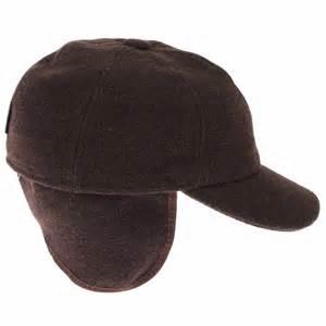 casquette en avec cache oreilles g 246 ttmann marron