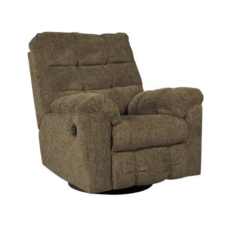 ashley furniture swivel rocker recliner ashley antwan swivel rocker recliner in truffle 4820028