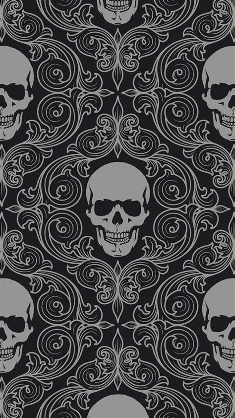 skull pattern iphone wallpaper skulls galaxy s5 wallpaper 1080x1920