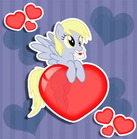 my pony valentines my pony friendship is magic images derpy