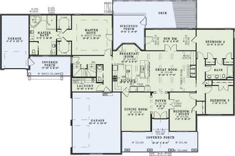 country house plans with basement country style house plans 2768 square foot home 1