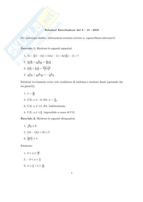 test scomposizione polinomi matematica generale fattorizzazione dei polinomi