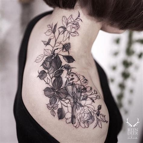55 Awesome Shoulder Tattoos Art And Design Feedpuzzle Awesome Shoulder Tattoos