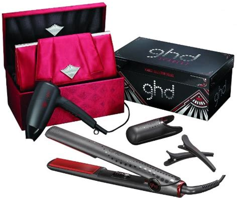 Philips Hair Dryer And Straightener Gift Set gt cheapest ghd scarlet collection deluxe limited edition