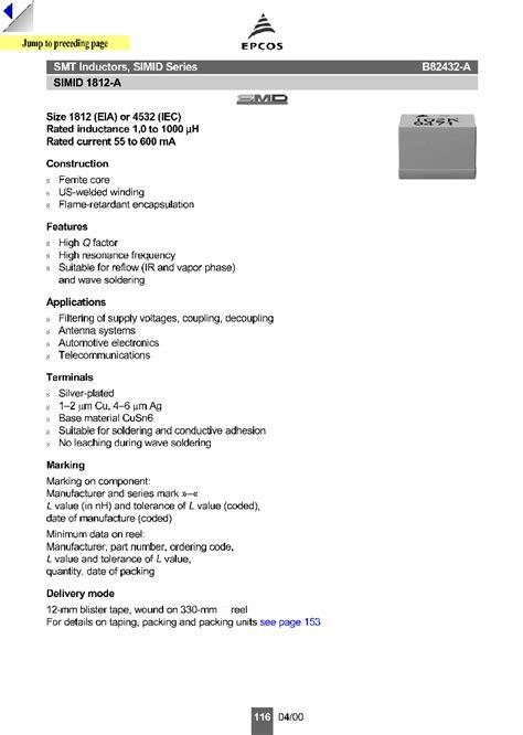 transistor a1273 datasheet b82432 a1152 k 816705 pdf datasheet ic on line