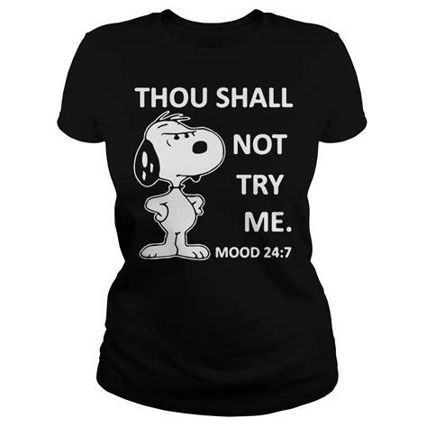 snoopy thou     mood   shirt hoodie
