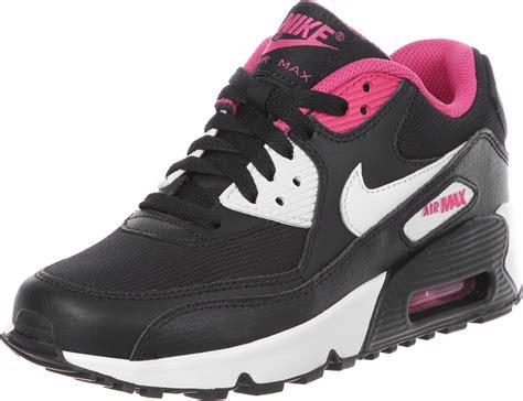 Nike Airmax T90 Black Pink nike air max 90 mesh gs shoes black white pink