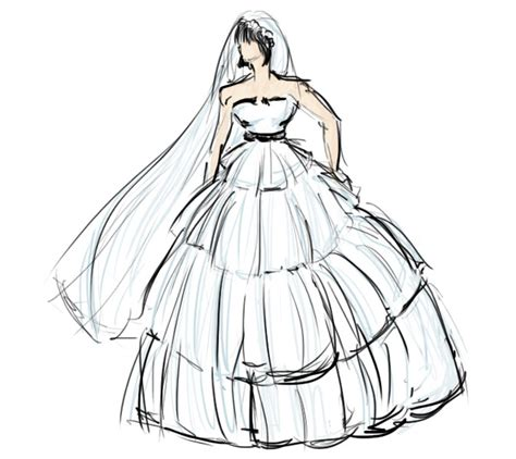 Brautkleider Zeichnen by F King Fantastic Fashion Sketches Made By Me