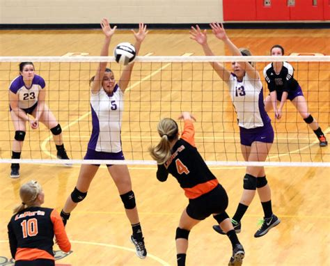 indiana volleyball sectionals laporte crown point sweep sectional volleyball openers