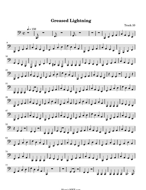 Grease Lighting Song Lyrics by Greased Lightning Sheet Greased Lightning Score Hamienet