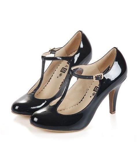 Heels T In Black By best 25 leather heels ideas on black booties