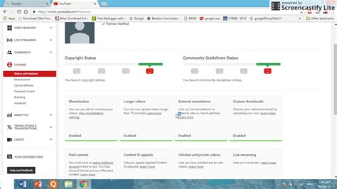 adsense my account how to create google adsense account for youtube channel