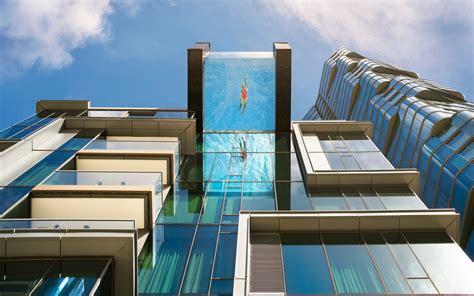 glass bottom pool hanging  honolulu