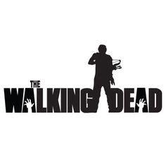 the walking dead decal sticker daryl dixon zombie walker