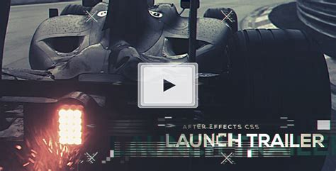 launch trailer abstract after effects templates f5