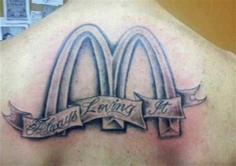 tattoo logo free food awful brand tattoos 26 pics picture 20 izismile com