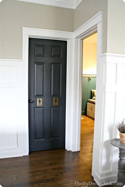 Add Moulding To Door by Adding Thick Craftsman Door Trim To Doorways Diy