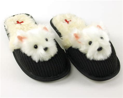 house shoes for dogs westie dog slippers dog slippers fuzzy nation dog slippers