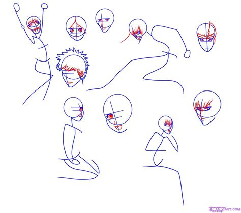 drawing pictures how to draw anime characters step by step archives
