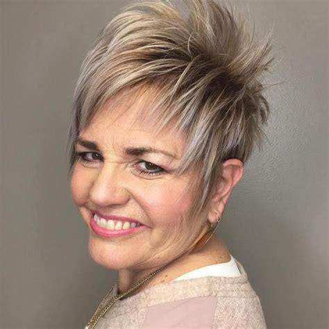 women short spiky bobs 29 best spiky haircuts older women images on pinterest