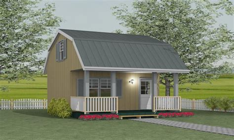 loft barn shed plans storage barn plans  loft bunkie