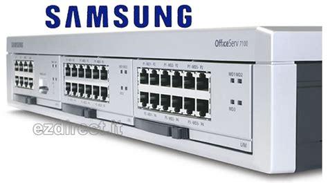 centralino ufficio officeserv 7100 centralini telefonici samsung ip per