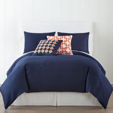 jcpenney boys comforters jcpenney home 300tc navy duvet cover accessories found