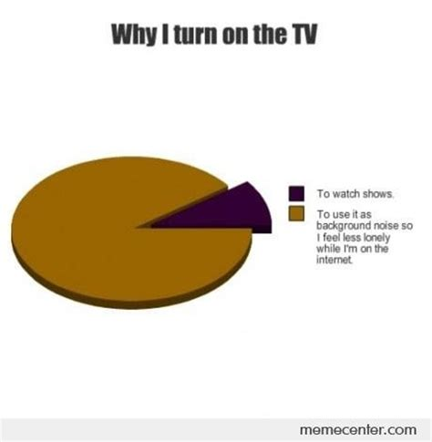 Turn On Memes - why i turn on the tv by ben meme center