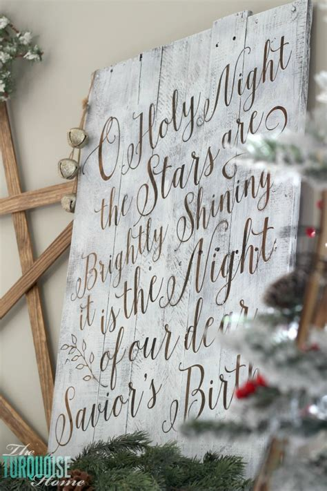 holy night  printable  turquoise home