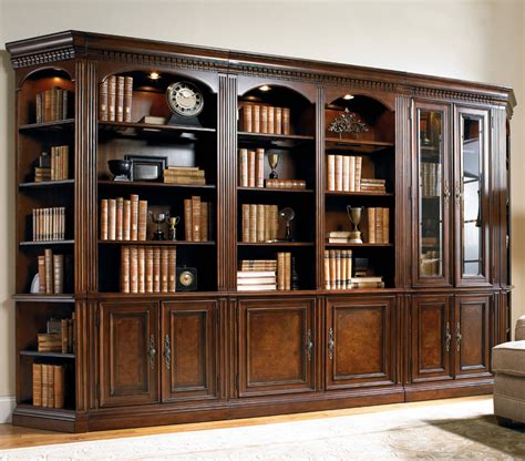 floor to ceiling bookcase with desk wooden book cabinet wayborn eiffel solid wood bookshelf